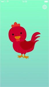 Chicken Baby Rattle