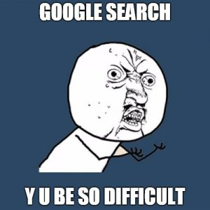 Google Search meme