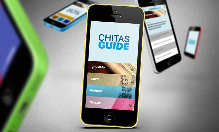 Chitas Teaching App on different iPhones