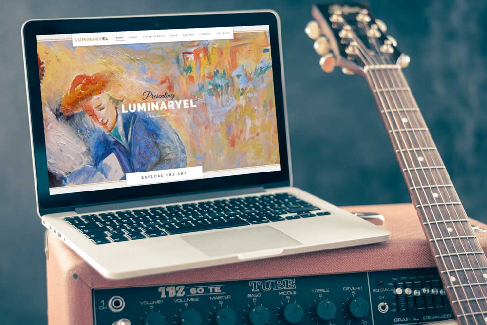 Luminaryel Screenshot and guitar